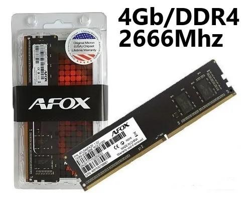 MEMORIA 4GB/DDR4 2666MHZ CL19 AFOX