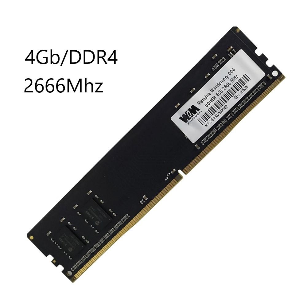 MEMORIA 4GB/DDR4 2666MHZ WINMEMORY  - Express Informática