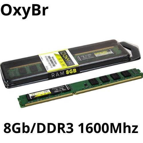 MEMORIA 8GB/DDR3 1600MHZ CL11 PC3-12800 OXYBR