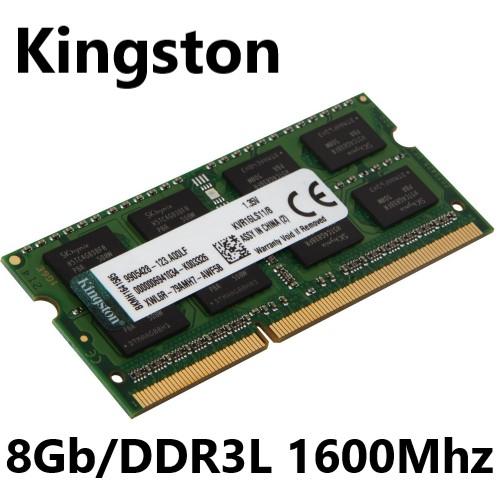 MEMORIA 8GB/DDR3L 1600MHZ CL11 NOTEBOOK PC3L-12800 KINGSTON