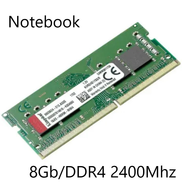 MEMORIA 8GB/DDR4 2400MHZ NOTEBOOK CL17 KINGSTON