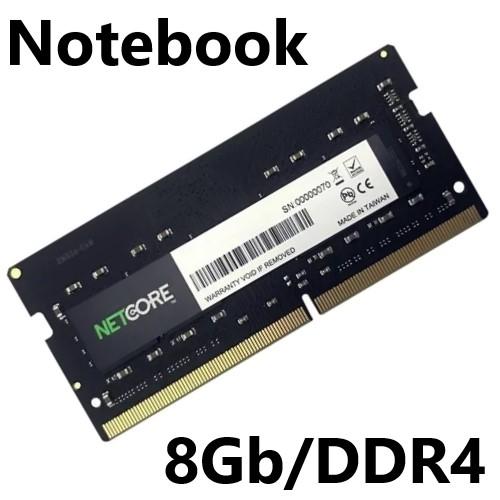 MEMORIA 8GB/DDR4 2400MHZ NOTEBOOK CL17 NETCORE