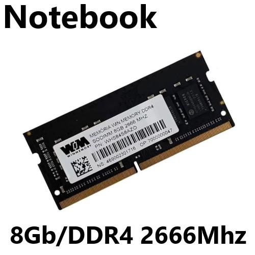 MEMORIA 8GB/DDR4 2666MHZ CL-19 NOTEBOOK WINMEMORY