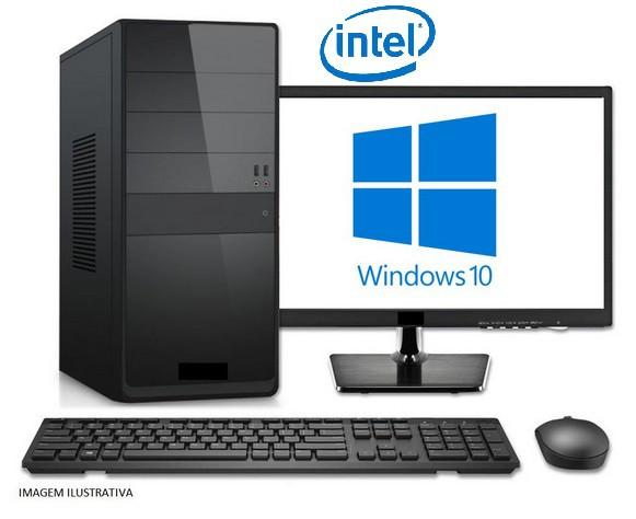 "MICRO - INTEL DUAL CORE 3.2GHZ / 4GB / SSD 120GB / MONITOR 15,4"" LED  - Express Informática"