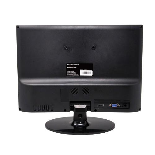 "MONITOR 15,4"" LED VGA/HDMI BM154X5HVW BLUECASE  - Express Informática"