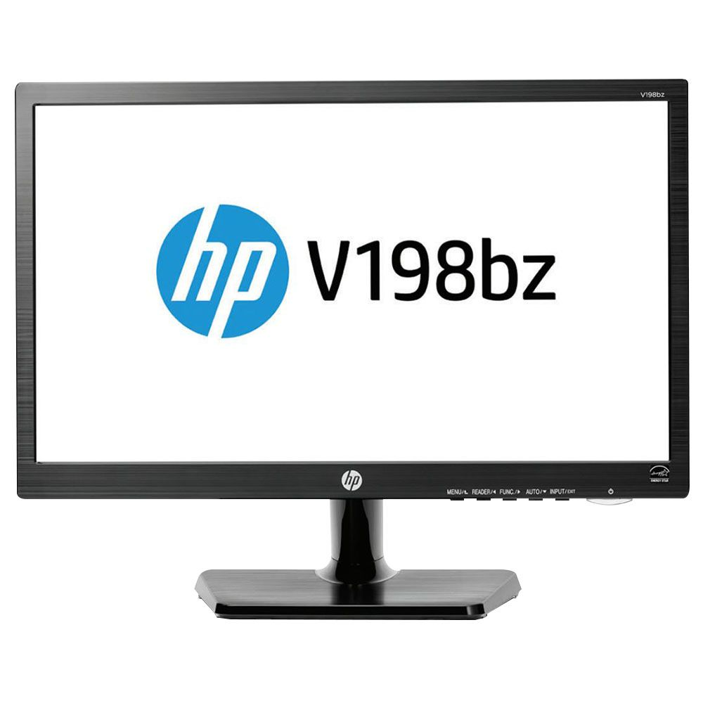 "MONITOR 18,5"" LED VGA V19B HP  - Express Informática"