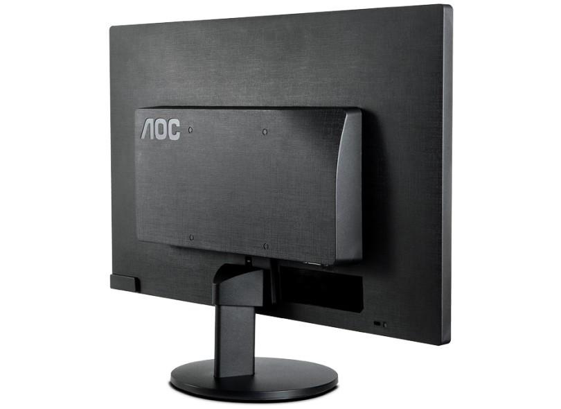 "MONITOR 21,5"" LED VGA E2270SWN AOC  - Express Informática"