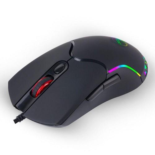 MOUSE GAMER USB OPTICO LEDS RGB 3200DPI TRIGGER ELITE DAZZ