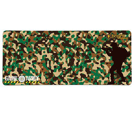 MOUSE PAD GAMER ARMY 70X30CM 0458 BRIGHT  - Express Informática