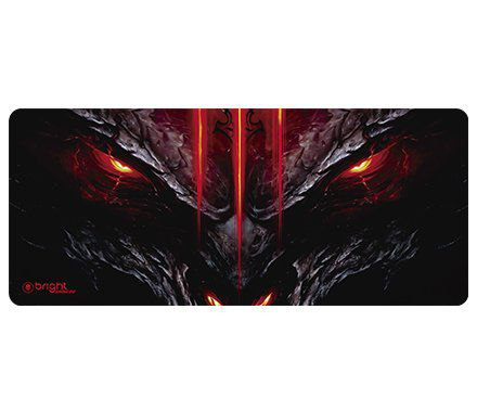 MOUSE PAD GAMER DRAGON 70X30CM 0554 BRIGHT