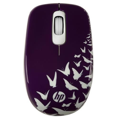 MOUSE S/FIO Z3600 BUTTERFLY HP  - Express Informática
