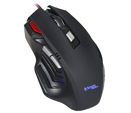 MOUSE USB GAMER PRO 7 BOTÕES 0465 PRETO BRIGHT