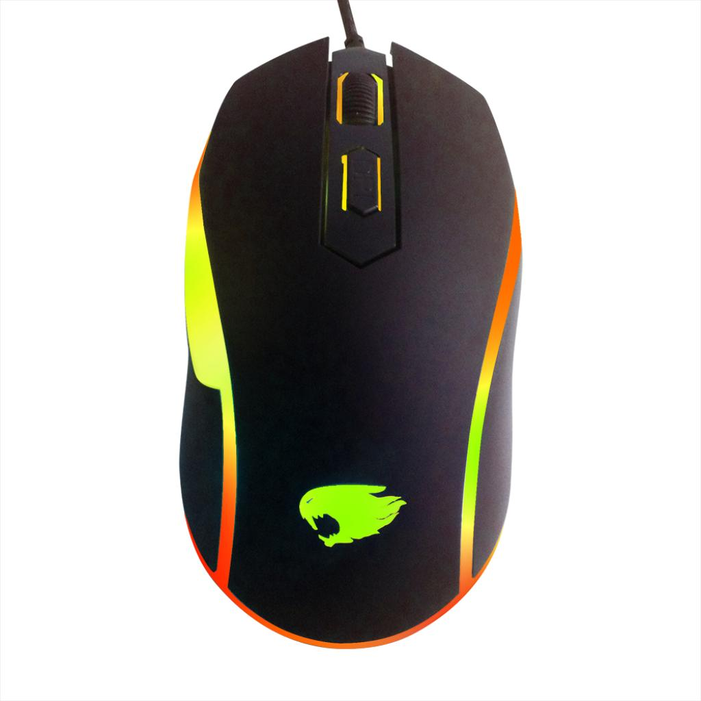 MOUSE USB OPTICO GAMER 4BT 1200DPI MOG016 G-FIRE  - Express Informática