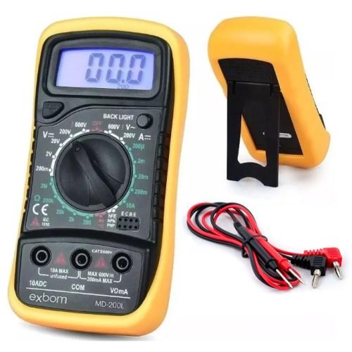 MULTIMETRO DIGITAL LCD 3