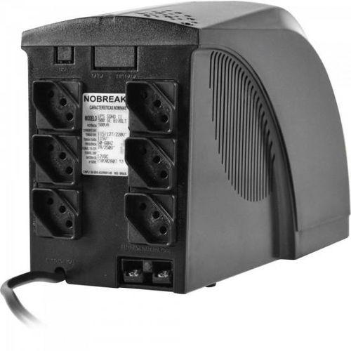 NOBREAK 1000VA BIVOLT 6T UPS SOHO 1BS/1BA TS SHARA  - Express Informática