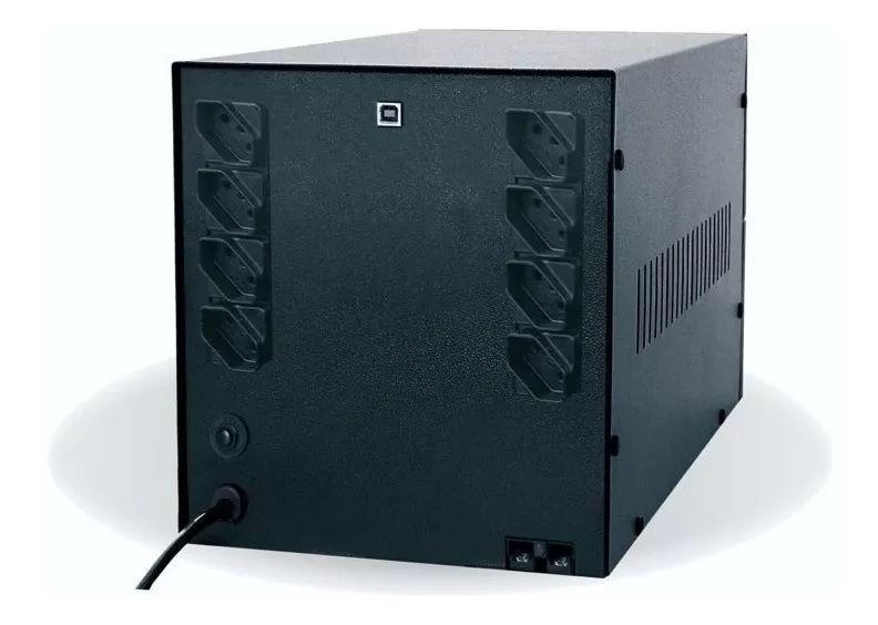 NOBREAK 2200VA BIVOLT 8T SENOIDAL 4BS/2BA TS SHARA  - Express Informática