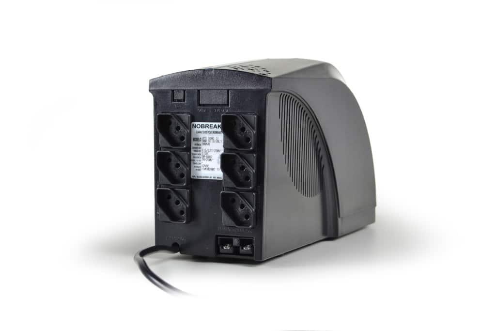 NOBREAK 800VA BIVOLT 6T UPS SOHO 1BS/1BA TS SHARA  - Express Informática