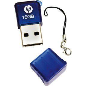 PEN DRIVE 16GB MINI USB 2.0 v165W HP  - Express Informática