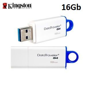 PEN DRIVE 16GB USB 3.0 DTIG4 KINGSTON  - Express Informática
