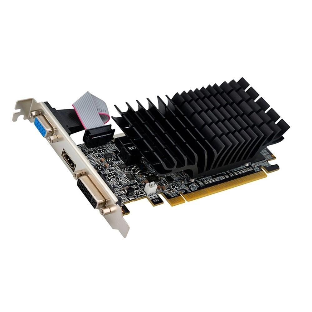 PLACA DE VIDEO 1GB DDR3 64BIT GEFORCE G210 VGA/DVI/HDMI AFOX  - Express Informática