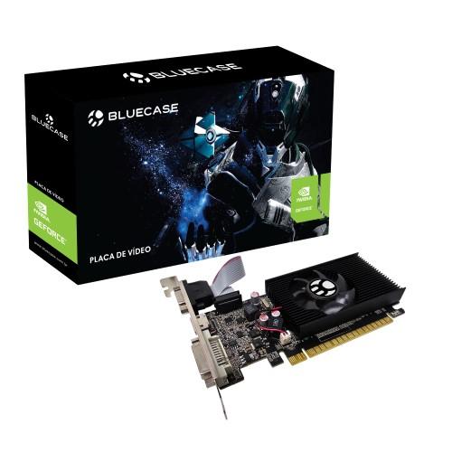 PLACA DE VIDEO 2GB/DDR3 64BITS GT-710 DVI-HDMI-VGA BLUECASE
