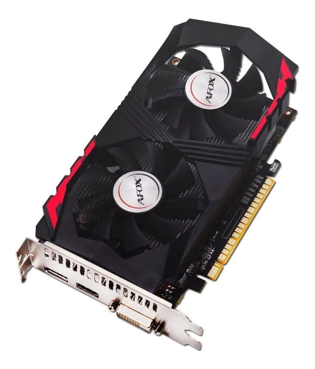 PLACA DE VIDEO 4GB DDR5 128BIT GTX-1050TI DP/HDMI/DVI AFOX  - Express Informática