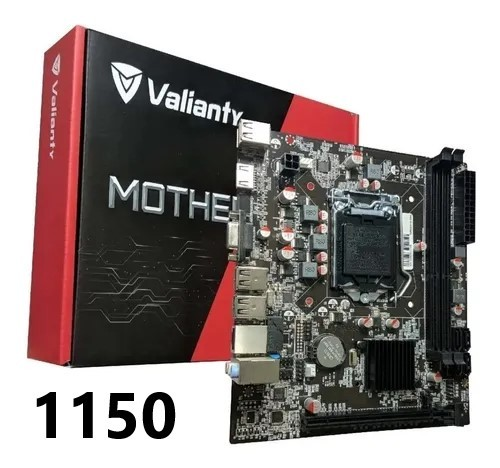 PLACA MÃE 1150 DDR3 IH81-MA6 VGA/HDMI REDE FAST VALIANTY