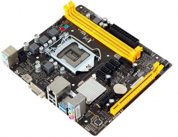 PLACA MAE 1151 DDR3 H110MHV3 V/S/R/HDMI BIOSTAR  - Express Informática