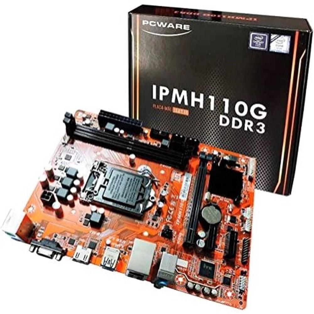 PLACA MAE 1151 DDR3 IPMH110G V/S/R/HDMI PCWARE