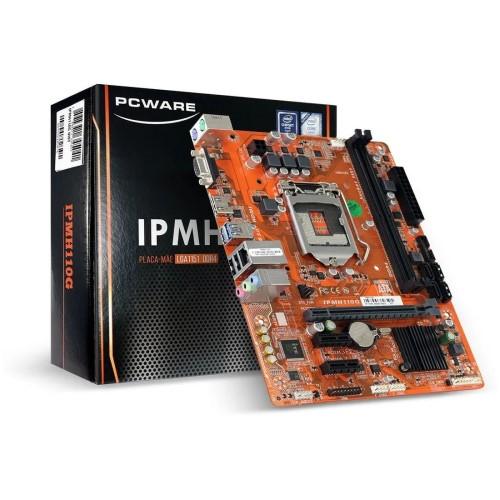 PLACA MAE 1151 DDR3 VGA/HDMI REDE GIGABIT IPMH110G 6ª/7ª GER PCWARE