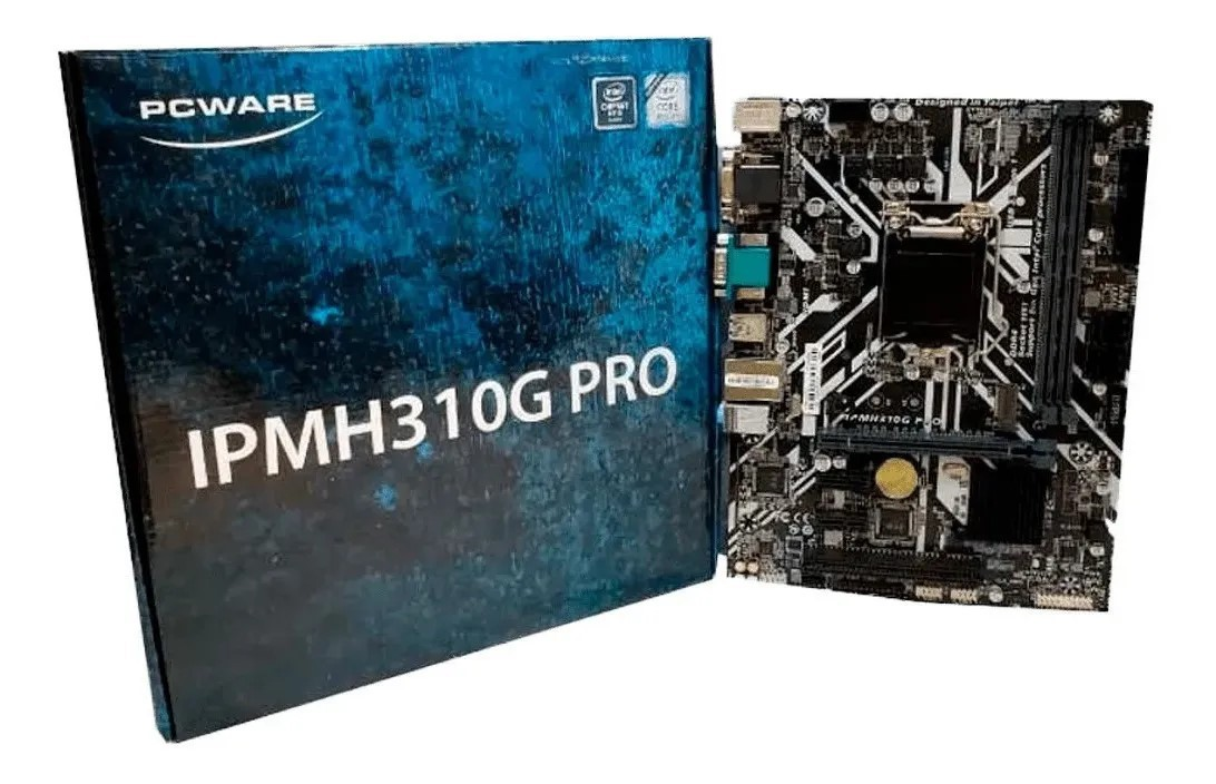 PLACA MAE 1151 DDR4 IPMH310G PRO V/S/R/HDMI 9ª GER PCWARE