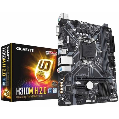 PLACA MAE 1151 DDR4 VGA/HDMI REDE GIGABIT H310M H 8ª/9ª GER GIGABYTE