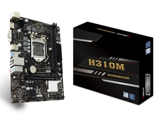 PLACA MAE 1151 DDR4 V/S/HDMI REDE GIGABIT H310MHP 8ª/9ª GER BIOSTAR