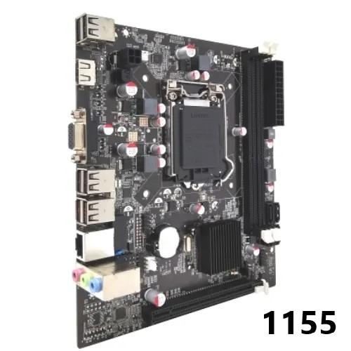 PLACA MAE 1155 DDR3 VGA/HDMI REDE FAST IH61-MA7 2ª/3ª GER BLUECASE