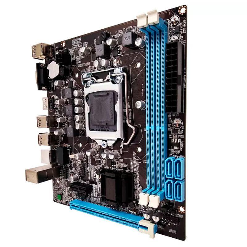 PLACA MÃE 1155 DDR3 YG-H61-S V/S/R/HDMI FOXCONN  - Express Informática