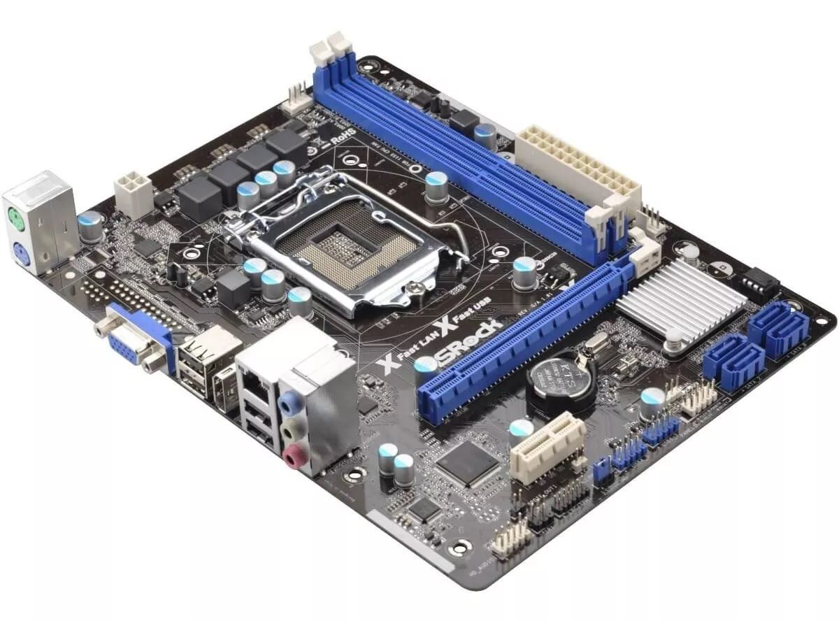PLACA MAE 1155 H61M-HG4 DDR3 V/S/R/HDMI ASROCK  - Express Informática