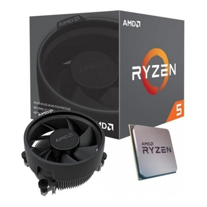 PROCESSADOR AMD RYZEN 5 2400G AM4 4CORE 3.6GHZ 6MB CACHE BOX