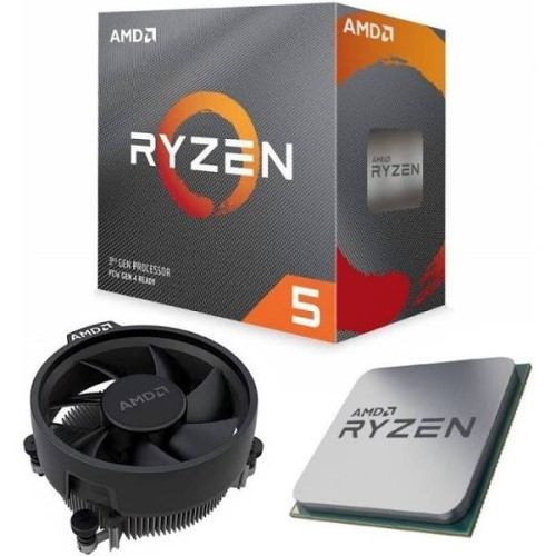 PROCESSADOR AMD RYZEN 5 3600 AM4 4CORE 3.6GHZ 35MB CACHE BOX