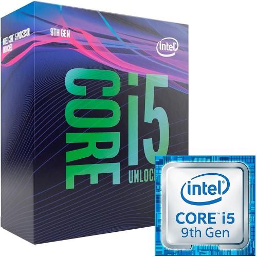 PROCESSADOR  INTEL CORE I5-9600K 3.7GHZ 9MB 1151 9ªGERAÇÃO BOX