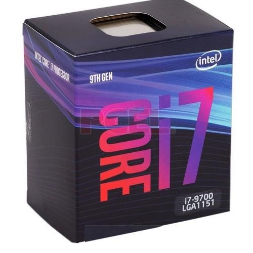 PROCESSADOR INTEL CORE I7-9700 3.0GHZ 12MB 1151 9ª GERAÇÃO BOX