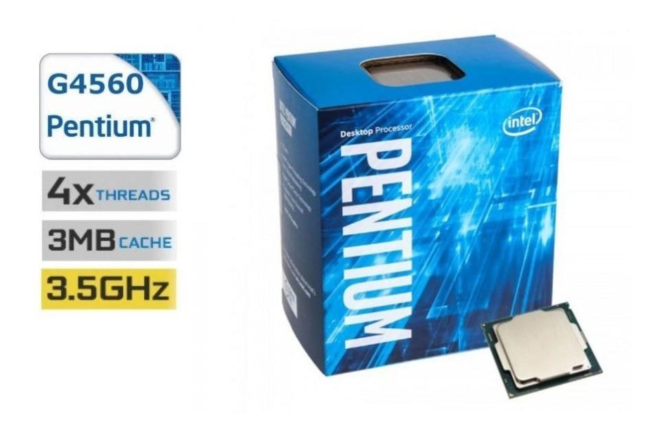 PROCESSADOR INTEL PENTIUM DC G4560 3.5GHZ 3MB 1151 BOX