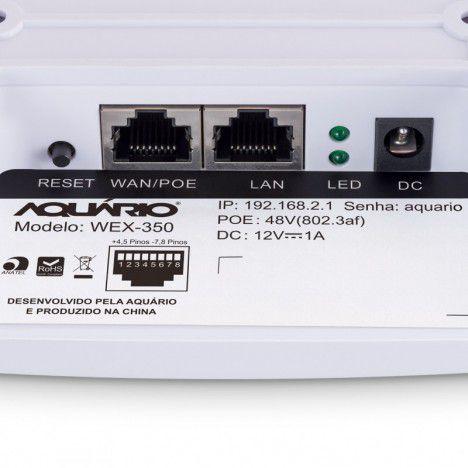 ROTEADOR 300MBPS 650mW WEX-350 POE AQUÁRIO  - Express Informática