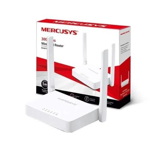 ROTEADOR WI-FI 300MBPS 2ANTENAS 2 PORTAS LAN MW301R ISP MERCUSYS