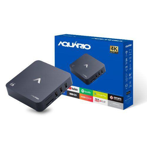 SMART BOX 4K STV-2000 ANDROID AQUÁRIO  - Express Informática