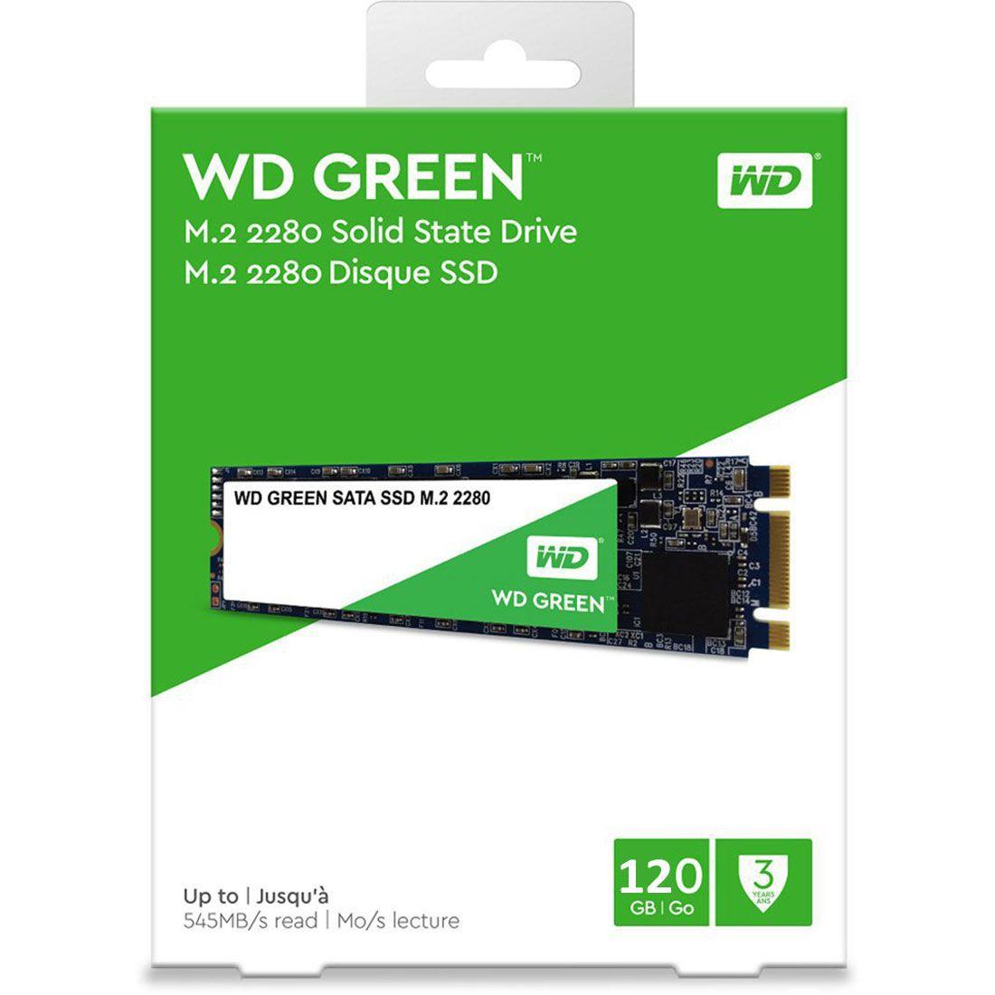SSD 120GB M.2 2280 545MB/S GREEN WDS120G2G0B WD