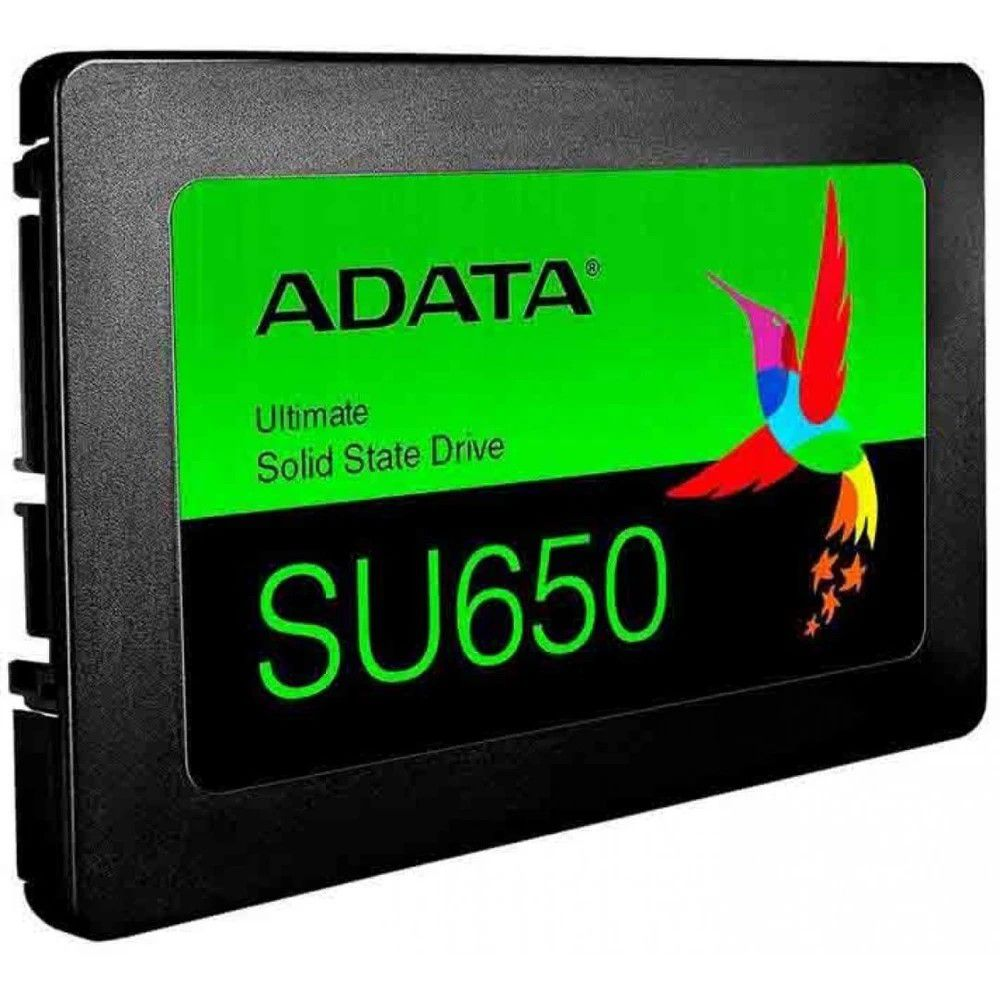"SSD 120GB SATA III 6.0 SU650 2.5"" 6GB/s ADATA  - Express Informática"