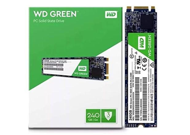 SSD 240GB M.2  2280 545MB/S GREEN WDS240G2G0B WD