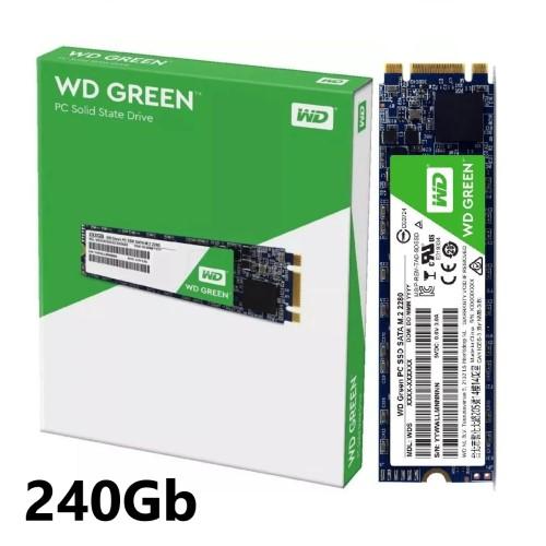 SSD 240GB M.2 SATA 545MB/S 2280 GREEN WDS240G2G0B WD