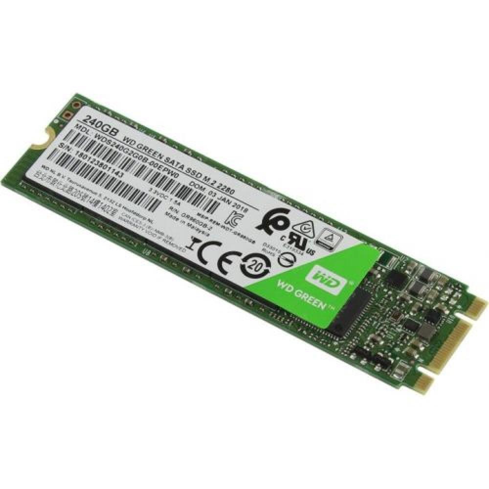 SSD 240GB M.2  2280 545MB/S GREEN WDS240G2G0B WD  - Express Informática