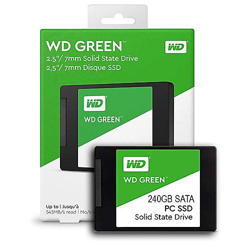 SSD 240GB SATA 3 545MBPS GREEN WDS240G2G0A WD  - Express Informática